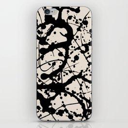 Cheers to Pollock iPhone Skin