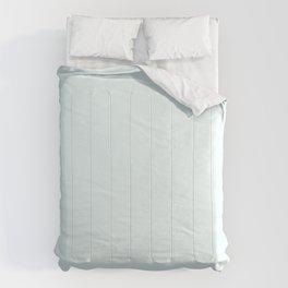 Cheap Solid Light Azure Blue Color Comforters
