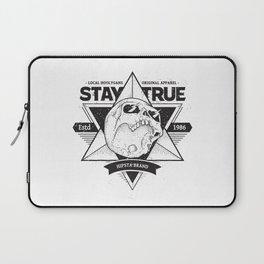 Stay True Skull #1 Laptop Sleeve