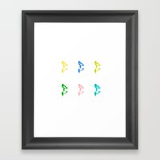 Little Birdland Framed Art Print
