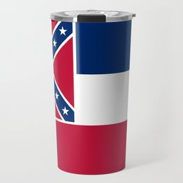 Mississippi State Flag, Authentic Version Travel Mug