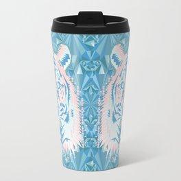 Pastel Quartz Tiger Travel Mug