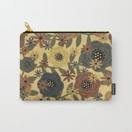 Grunge Floral Carry-All Pouch