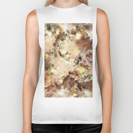 Abraded surface Biker Tank