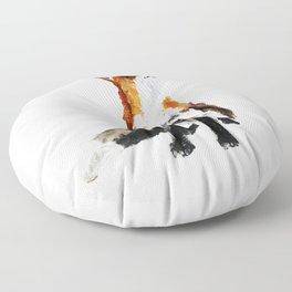 Woodland Fox (reverse edit) Floor Pillow