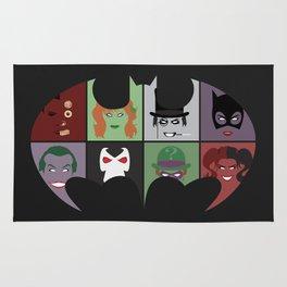 Bat Villains Rug