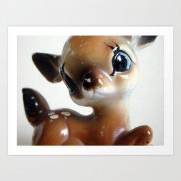 Deer me. Art Print