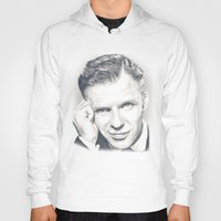 frank sinatra Hoodies featuring Frank Sinatra by Heather Andrewski