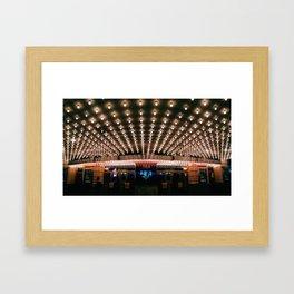 under these lights Framed Art Print