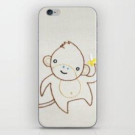 M Monkey iPhone Skin
