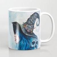 valentine Mugs featuring Blue Valentine by Tanya Shatseva