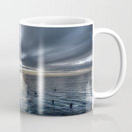 Morning Monotones Huntington Beach Coffee Mug
