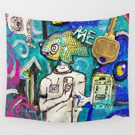 Emotion Ocean 2 Wall Tapestry