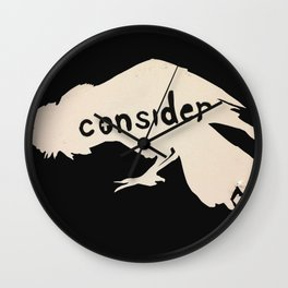 Consider the Ravens... Wall Clock