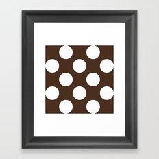 Café com bolas Framed Art Print