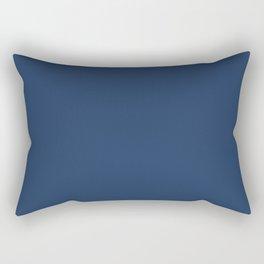 """""""Navy Peony"""" pantone color Rectangular Pillow"""