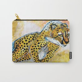 Catch Me If You Can (Cheetah) Carry-All Pouch