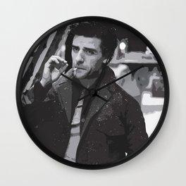 Oscar Isaac 4 Wall Clock