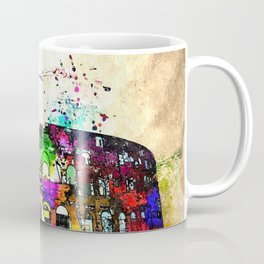 Colosseo Grunge Coffee Mug