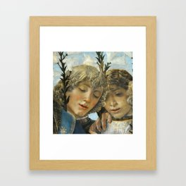 Sandro Botticelli - Angels 1. detail Framed Art Print