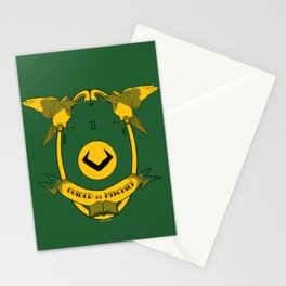 Guided by Mischief - Loki's Army Crest Stationery Cards