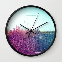 Remembering You Between Whispers Wall Clock