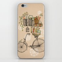 flower iPhone & iPod Skins featuring Pleasant Balance by florever
