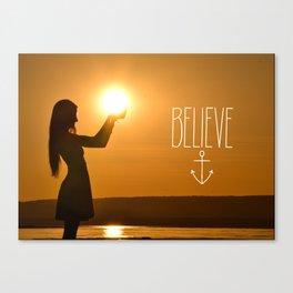 Believe Canvas Print