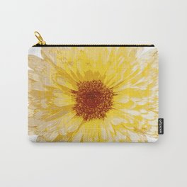 Beautiful Yellow Marigold Vector Isolated Carry-All Pouch