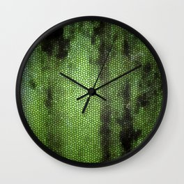 Snake plant Wall Clock