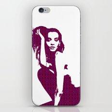 Model Liya Kebede iPhone & iPod Skin
