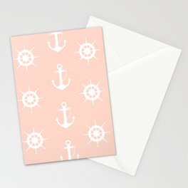 AFE Anchor and Helm Wheel Stationery Cards