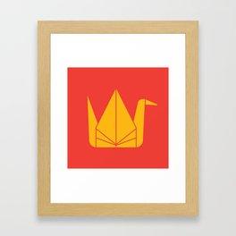 Japan Origami Framed Art Print