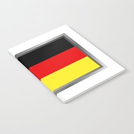 Germany flag Notebook