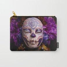 Violet Harvest Muertita Detail Carry-All Pouch