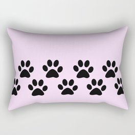 Muddy Paws Rectangular Pillow