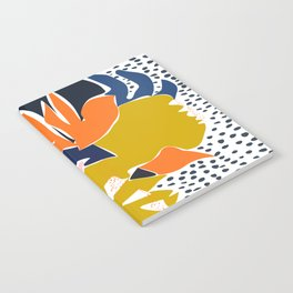 Modern flowers - design for a happy life Notebook