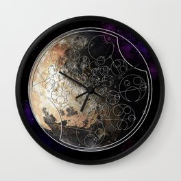 Don't Blink Wall Clock