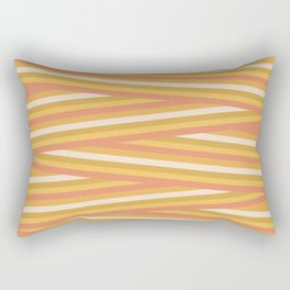 stripey sunny square Rectangular Pillow