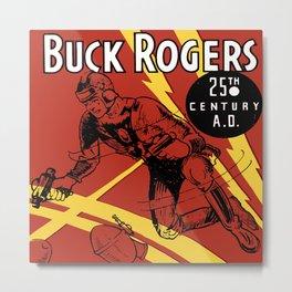Vintage Buck Rogers Metal Print