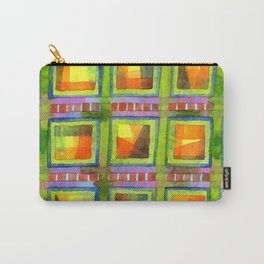 Light behind colorful geometric Windows Carry-All Pouch