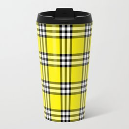 As If Plaid Travel Mug