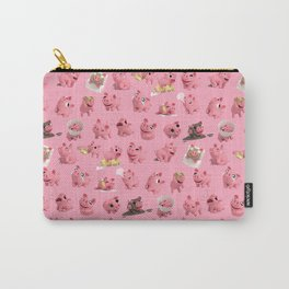 Rosa the Pig Pattern Carry-All Pouch