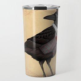 Mr Crow On Payday Travel Mug