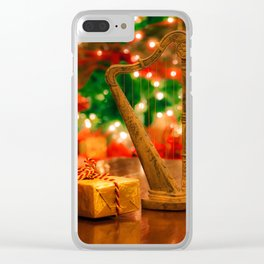 Christmas Suite Clear iPhone Case