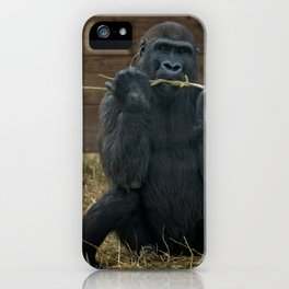 Gorilla Lope iPhone Case