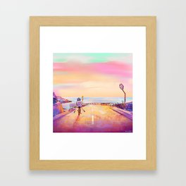 Bicycle 2 Framed Art Print