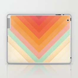 Rainbow Chevrons Laptop & iPad Skin