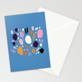 Composition No. 1 Blue Stationery Cards
