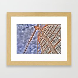 From above or below?  Framed Art Print